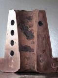 OPTISAVE センサーを内蔵した銅製のタップホールの断面