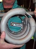 OPTISAVE Sensor an einem Kühlregister