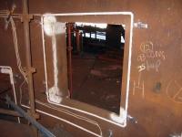 Сенсор SAVEDRY установленный в выпускной лётке электродуговой печи