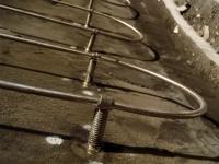 鉄皮に直接、取り付けたSAVELINEセンサー