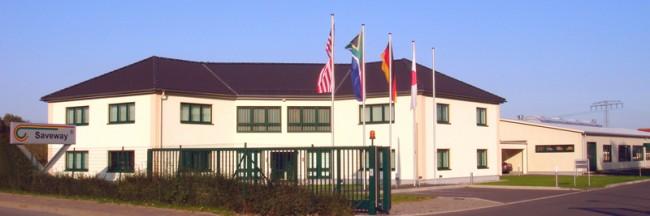 Company building in Langewiesen